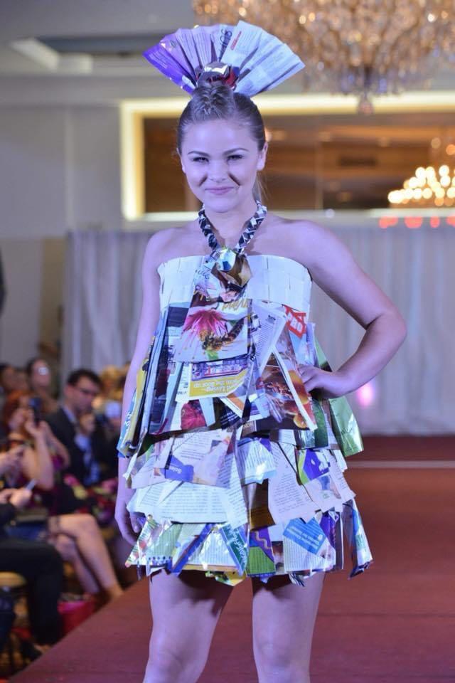 Magazine Recycle Dress