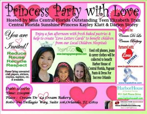 Princess Party Fundraiser